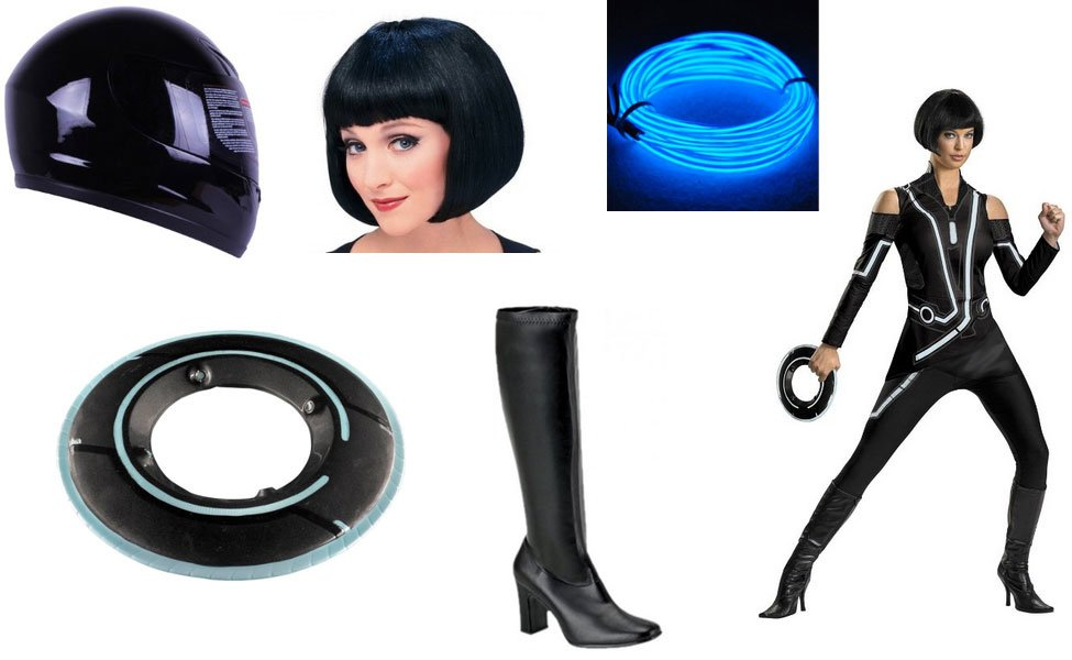 Quorra from Tron: Legacy Costume