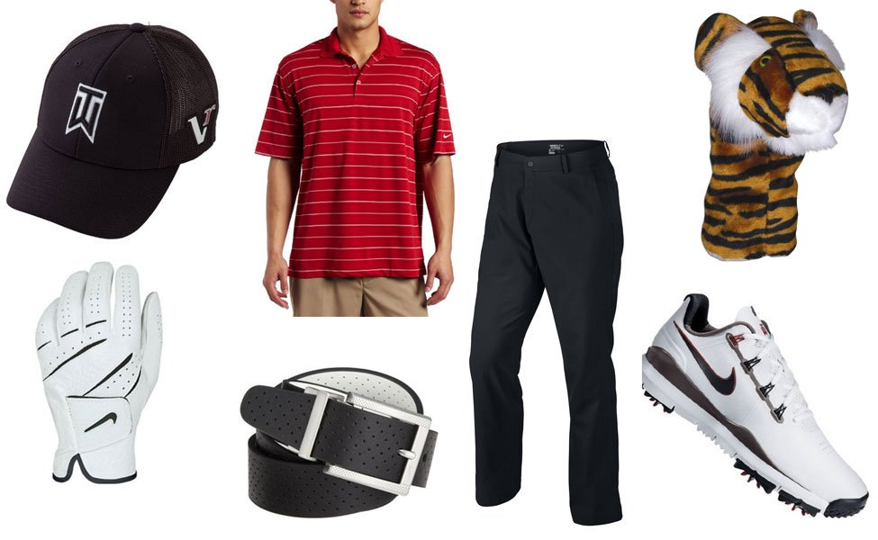 Tiger Woods Costume