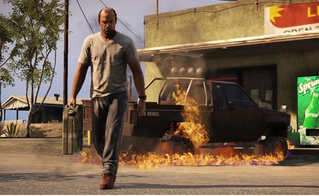 Trevor from GTA5