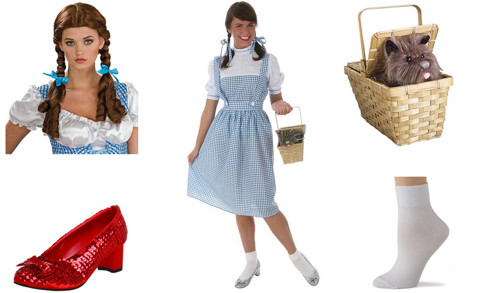 Dorothy Costume Diy Dress Up Guides For Cosplay Halloween