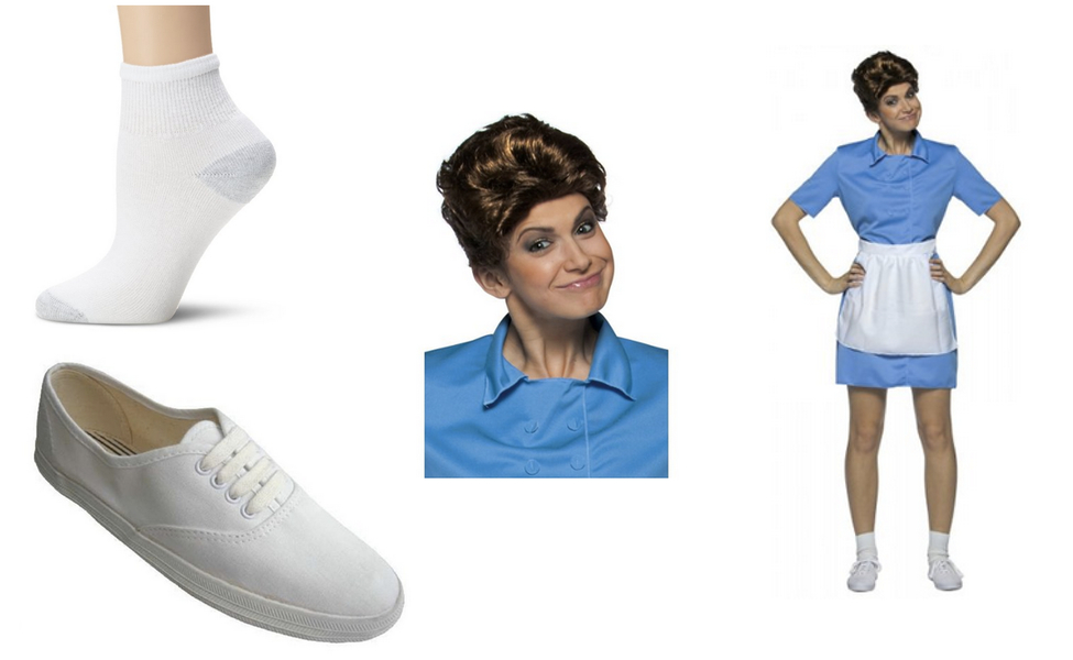 Alice from The Brady Bunch Costume