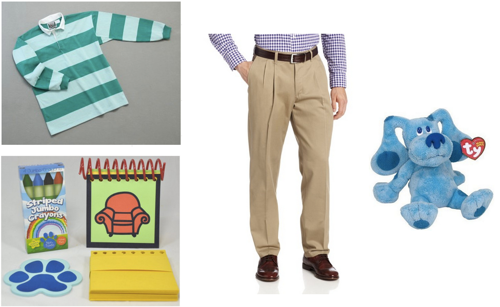 Steve From Blues Clues Costume Diy Guides For Cosplay Halloween