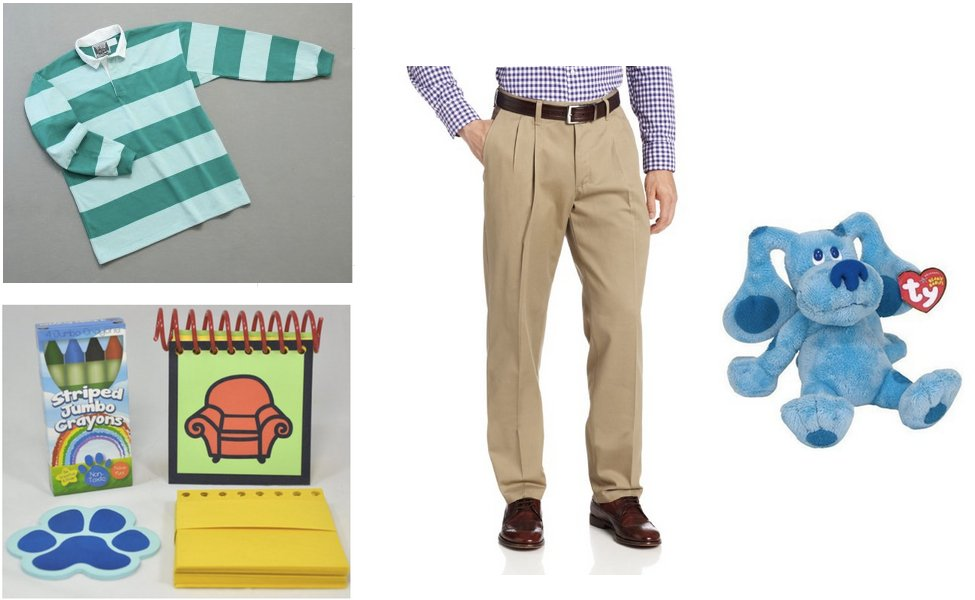 Steve from Blue's Clues Costume