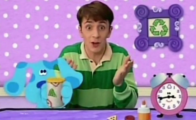 Steve from Blue's Clues