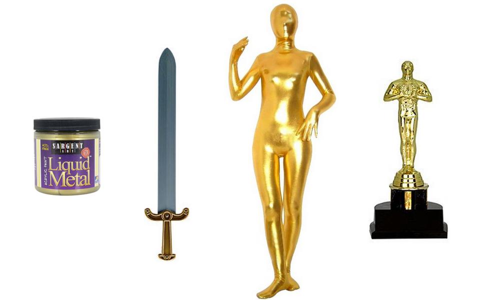 Oscars Statuette Costume
