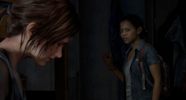 Riley Abel from the Last of Us
