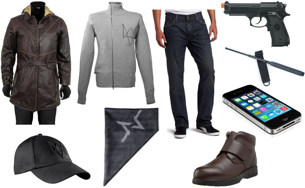 All Clothes In Watch Dogs