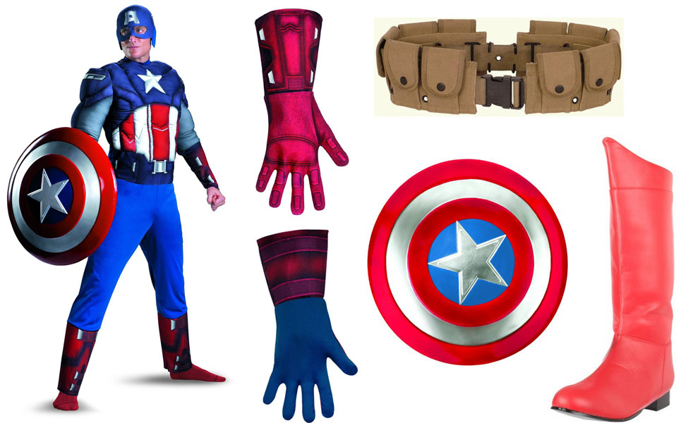 Captain America Costume  sc 1 st  Carbon Costume & Captain America Costume | DIY Guides for Cosplay u0026 Halloween