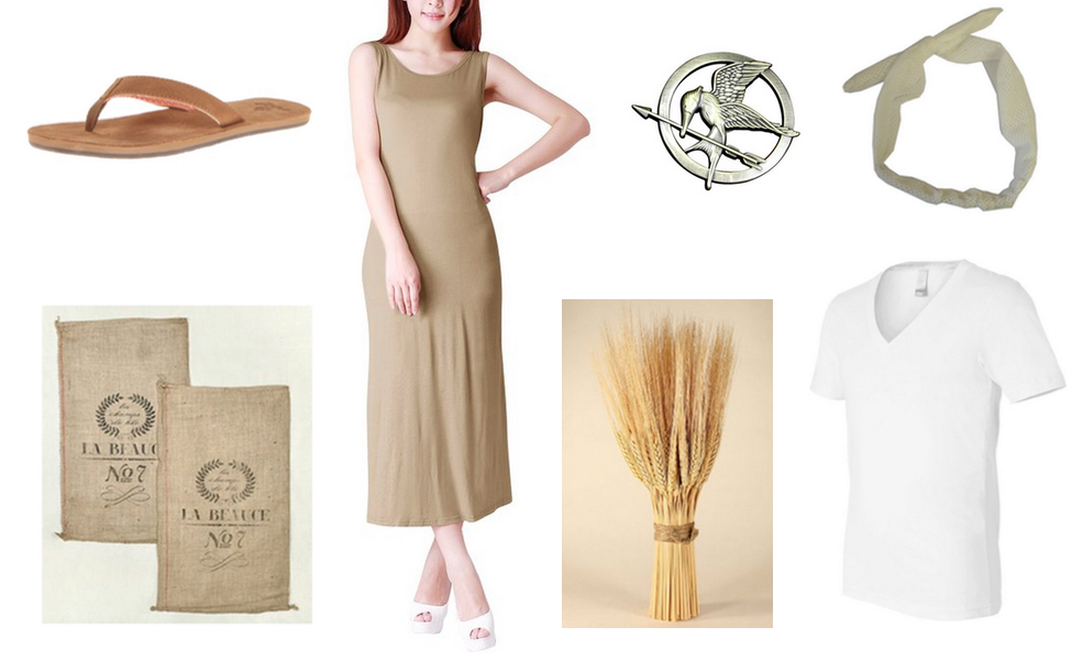 Panem District 9 Citizen Costume