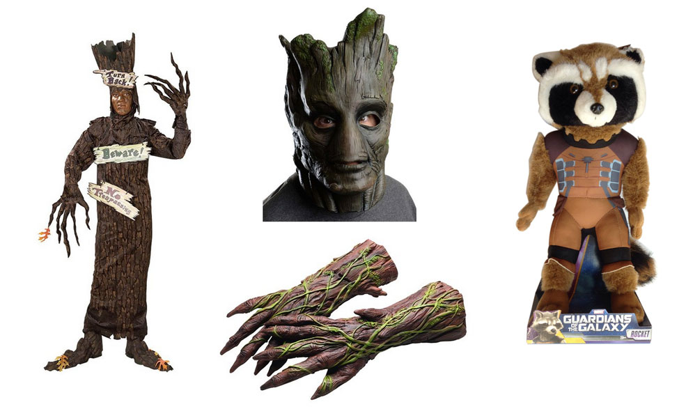 Groot and Rocket Raccoon Costume