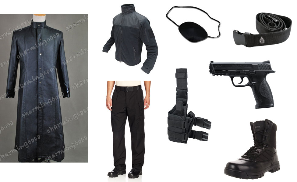 Nick fury costume diy guides for cosplay halloween nick fury costume solutioingenieria Choice Image