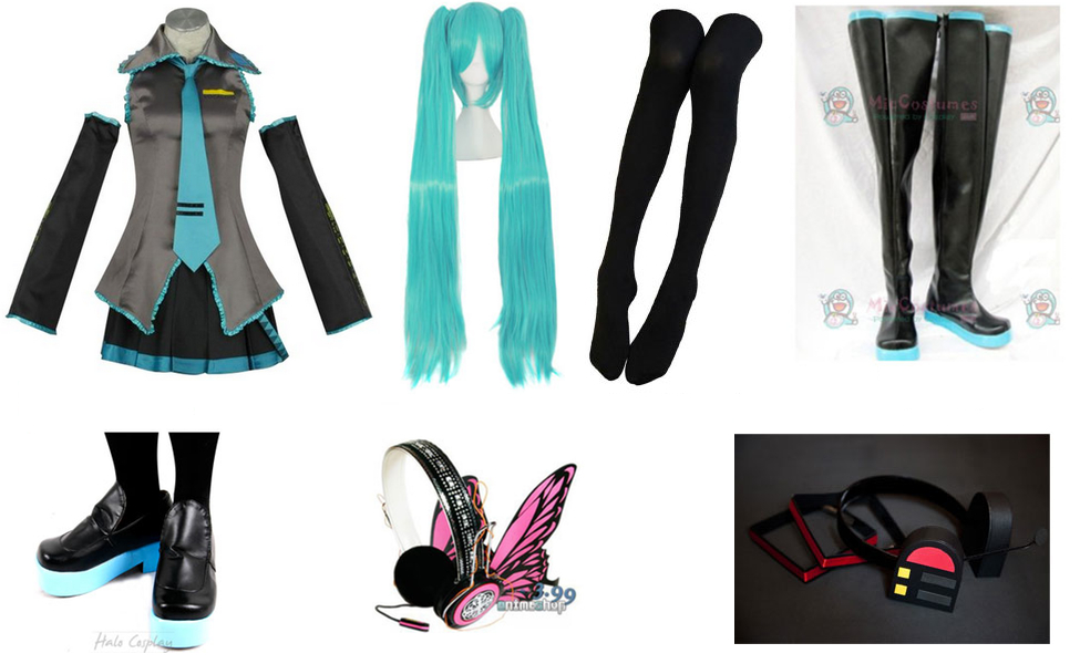 Souvent Hatsune Miku Costume | DIY Guides for Cosplay & Halloween IY12