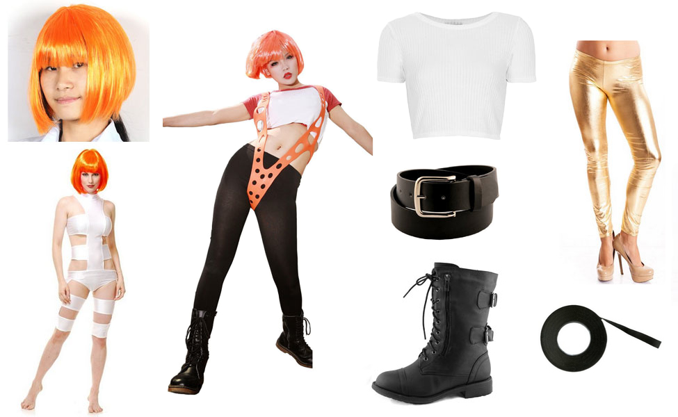 Leeloo Costume | DIY Guides for Cosplay & Halloween