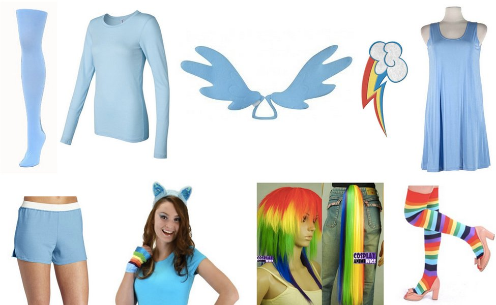 Rainbow Dash Costume Diy Dress Up Guides For Cosplay