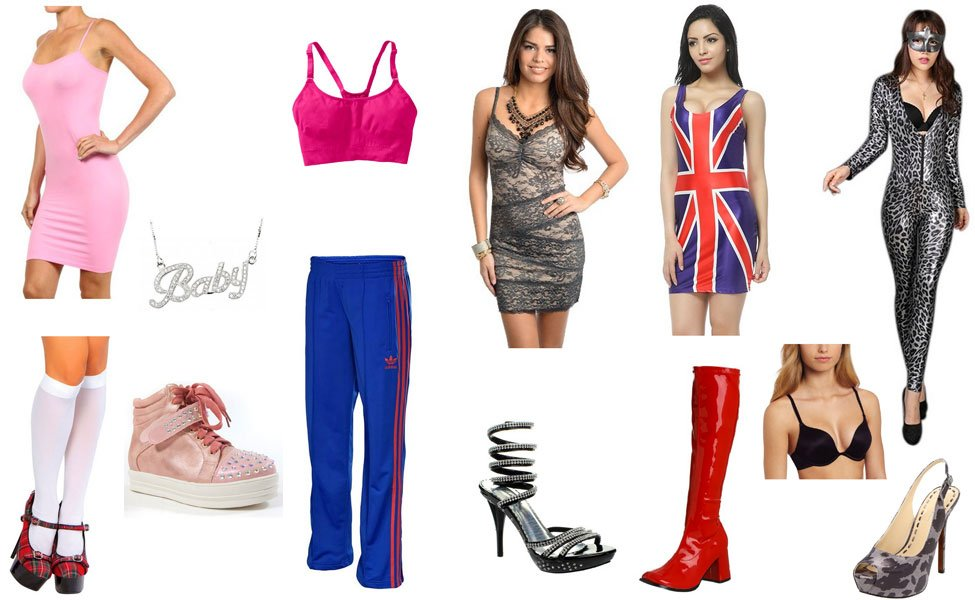 Spice Girls Costume Diy Guides For Cosplay Halloween