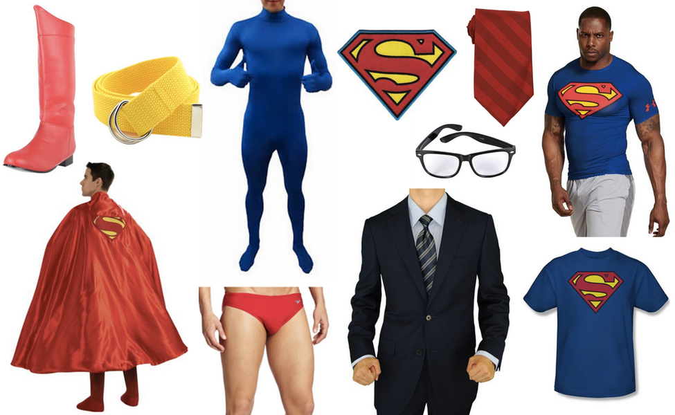 Superman clark kent costume diy guides for cosplay halloween superman clark kent costume solutioingenieria Gallery