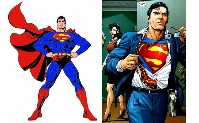 Superman clark kent costume diy guides for cosplay halloween superman clark kent solutioingenieria Gallery