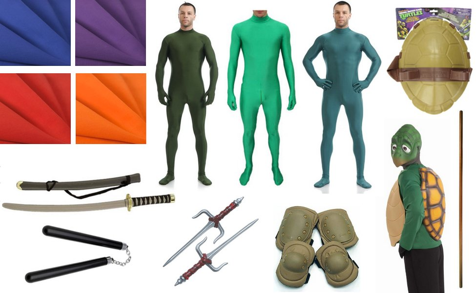 Teenage Mutant Ninja Turtles Costume Diy Guides For Cosplay