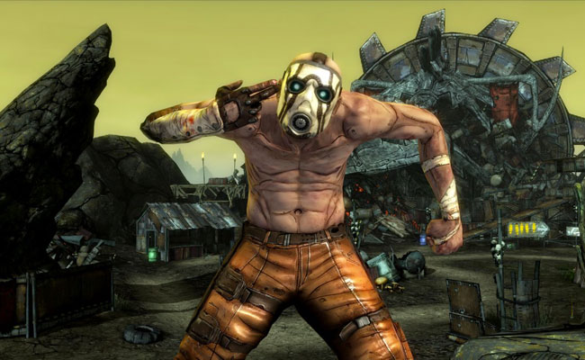 Borderlands Psycho Costume