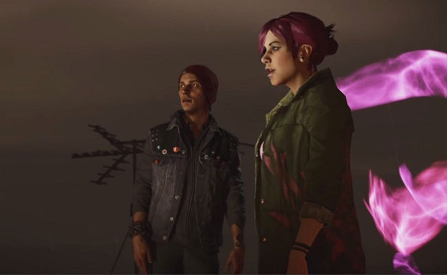 Delsin Rowe and Fetch