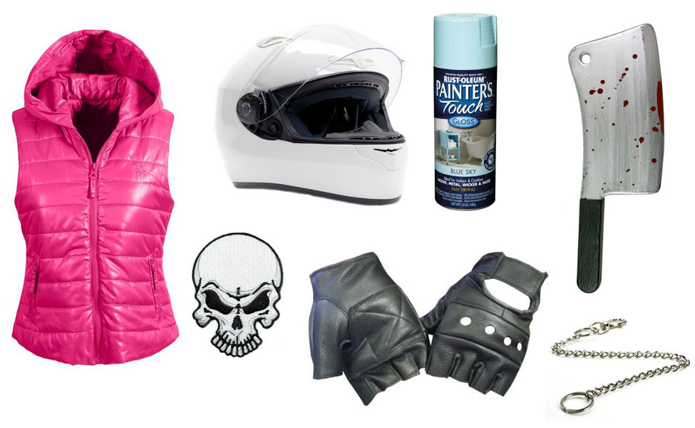 Hotline Miami Biker Costume