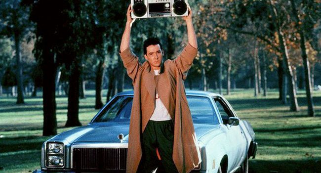 Lloyd Dobler in Say Anything…