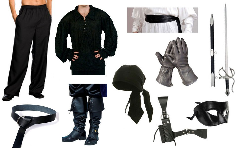Dread Pirate Roberts Costume