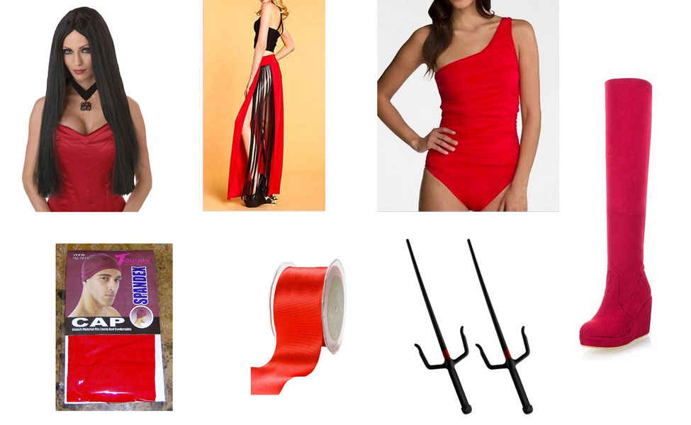 Elektra Costume  sc 1 st  Carbon Costume & Elektra Costume | DIY Guides for Cosplay u0026 Halloween