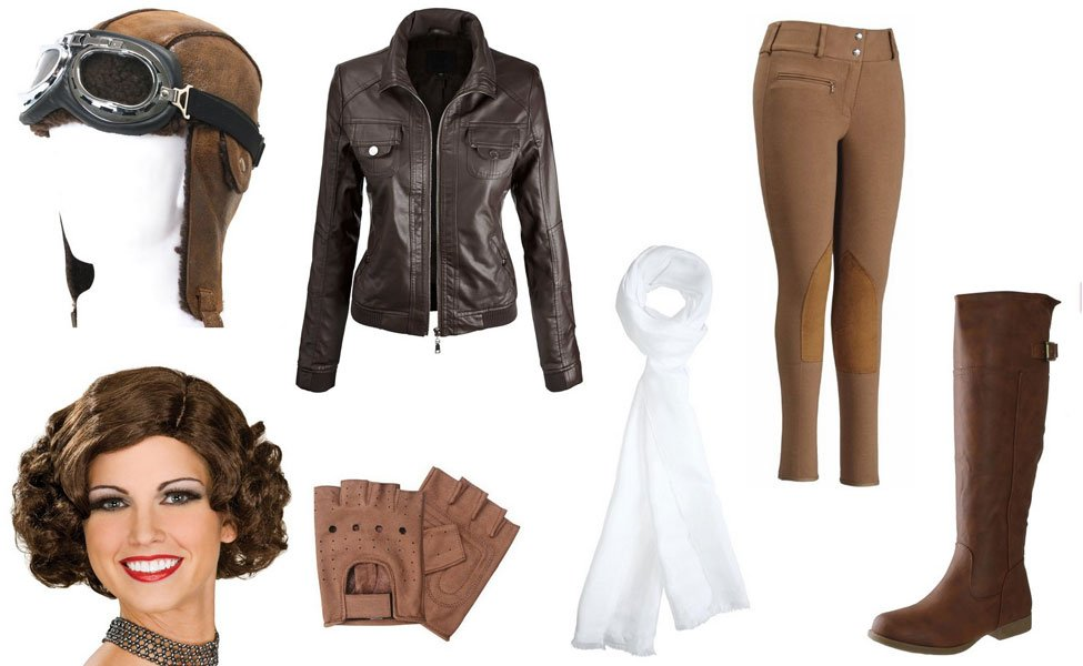 Homemade Amelia Earhart Costume Diy Guides For