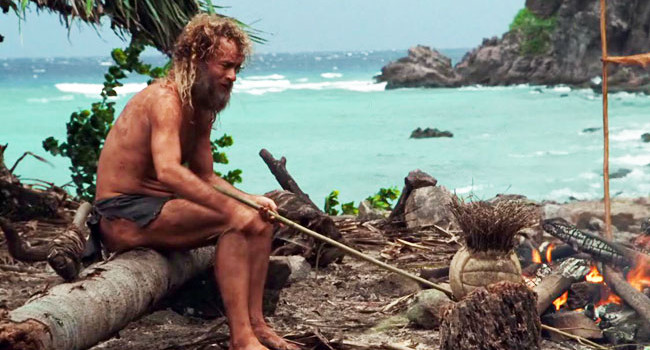 Chuck Noland in Cast Away