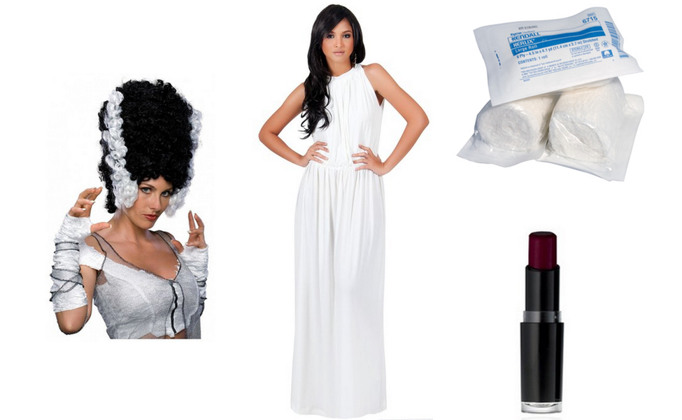 The Bride Of Frankenstein Costume Diy Dress Up Guides For