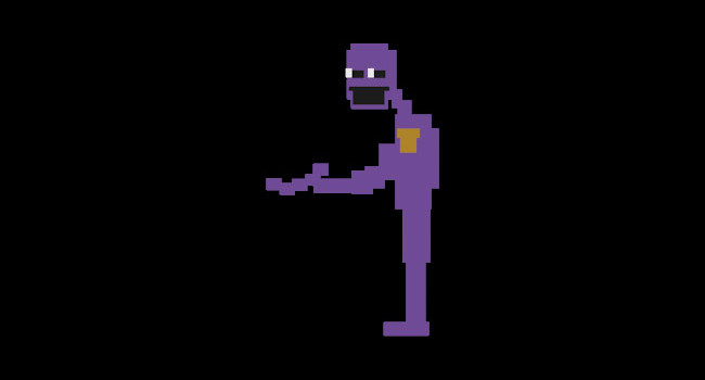 Purple Man from Five Nights at Freddy's