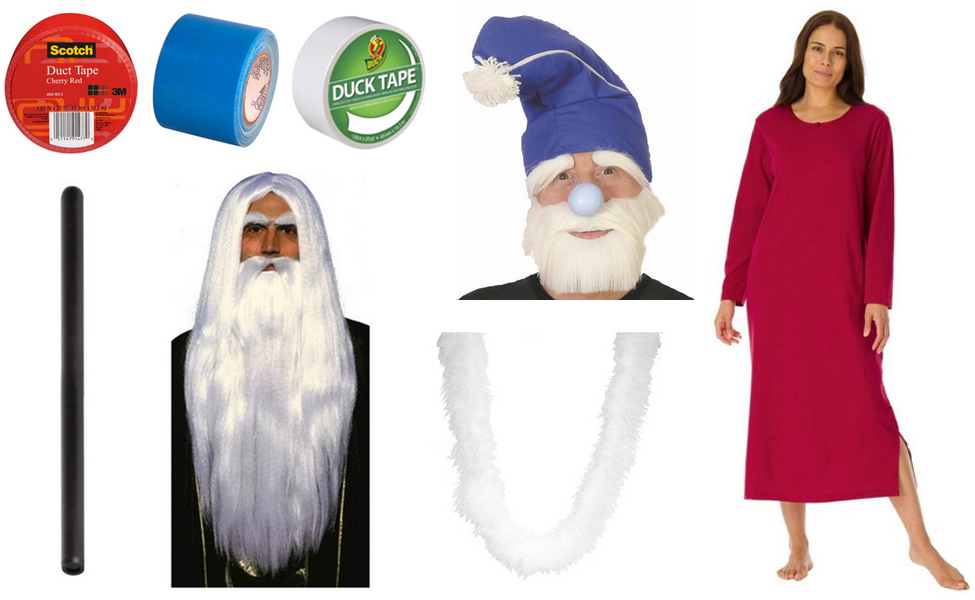 Wizard Whitebeard Costume