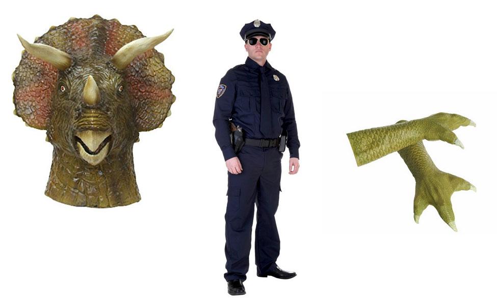 Triceracop Costume