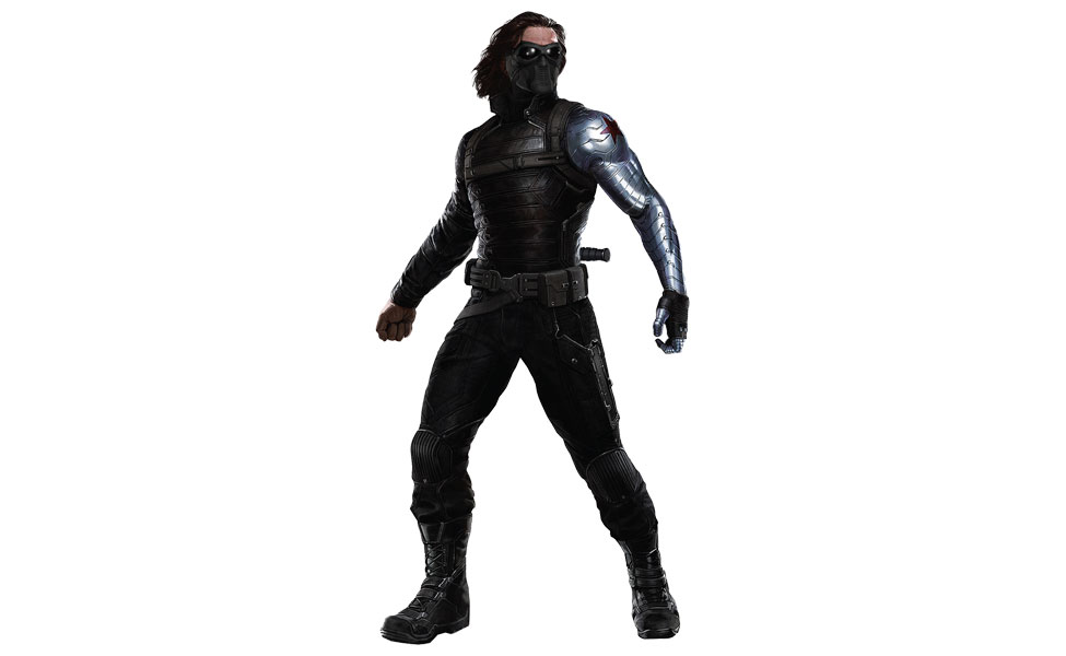 Winter soldier costume diy guides for cosplay halloween bucky barnes sebastian stan is captain americas brother in arms until his plane explodes in soviet airspace the russians rescue him solutioingenieria