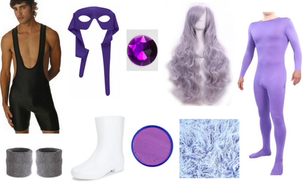 Purple Puma Costume