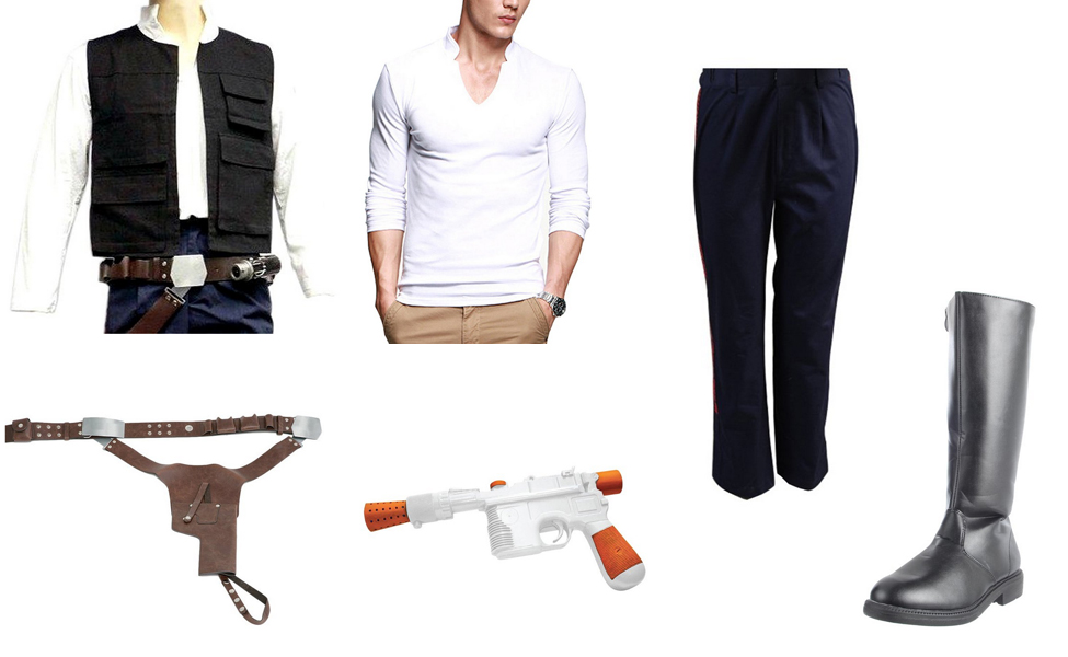 Han Solo Costume | DIY Guides for Cosplay & Halloween Jabba The Hutt Cosplay