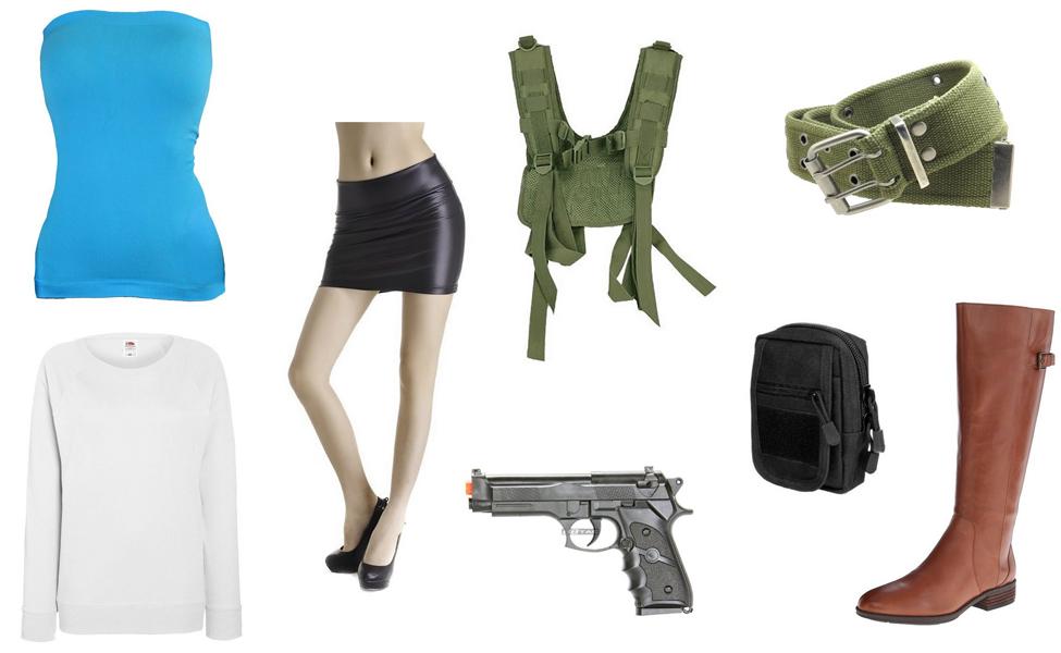 Jill Valentine Costume