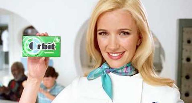 Orbit Gum Girl