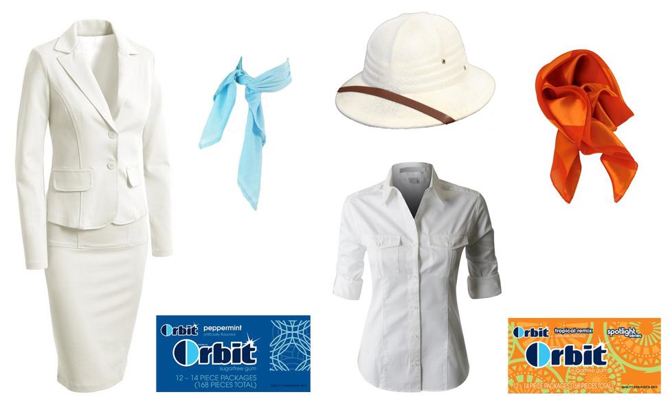 Orbit Gum Girl Costume