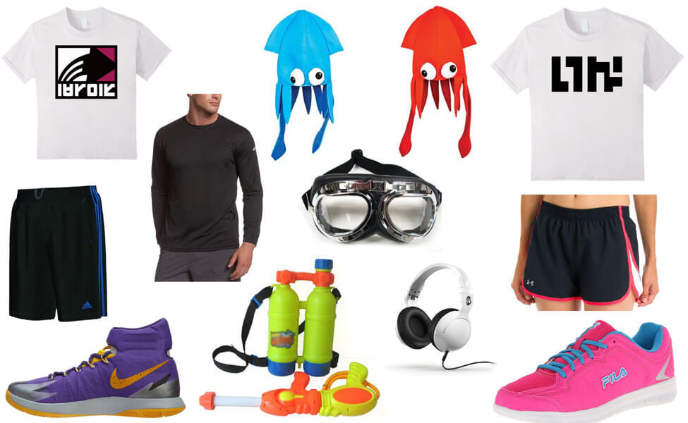 Splatoon Inklings Costume