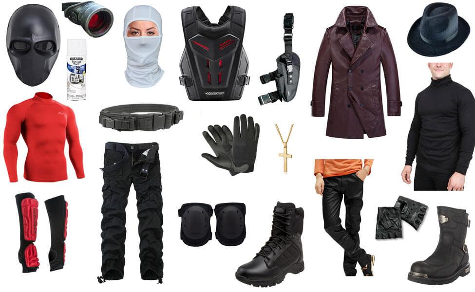 Deadshot costume diy guides for cosplay halloween deadshot costume solutioingenieria Choice Image