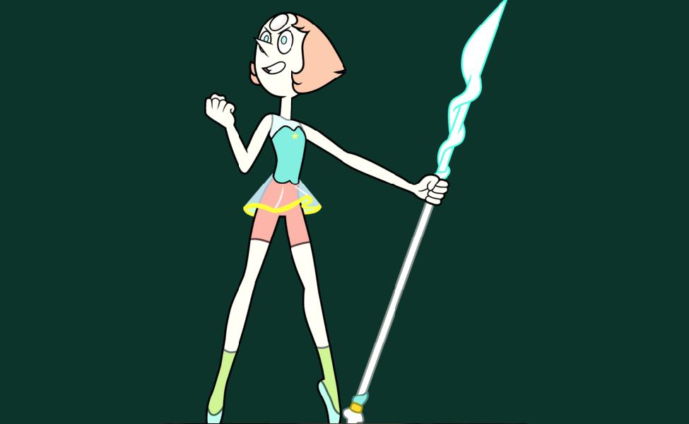 Steven Universe Pearl S Spear Beautiful Pearls Design