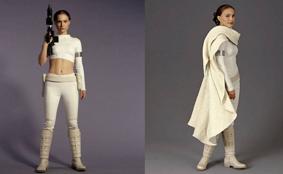 Pleasing Padme Amidala Costume Diy Guides For Cosplay Halloween Short Hairstyles Gunalazisus