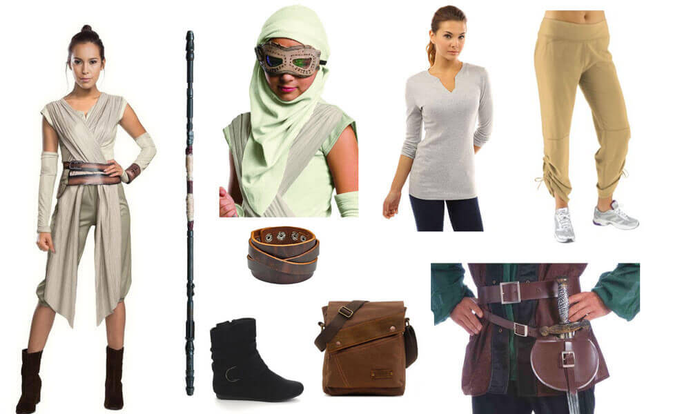 Rey Costume  sc 1 st  Carbon Costume & Rey Costume | DIY Guides for Cosplay u0026 Halloween
