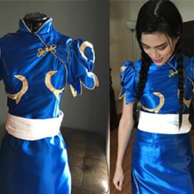 Make Your Own: Chun Li from Street Fighter