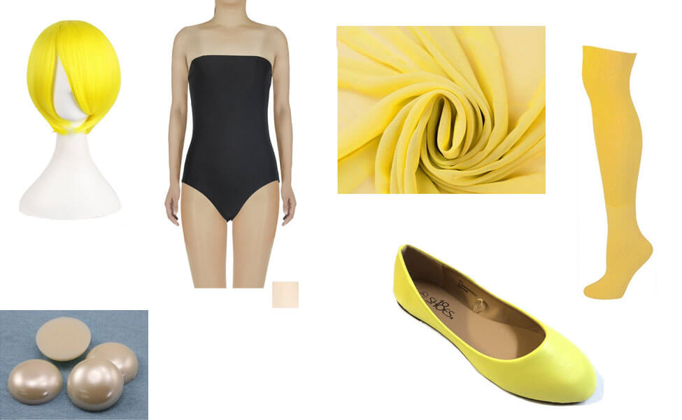 Yellow Pearl Costume