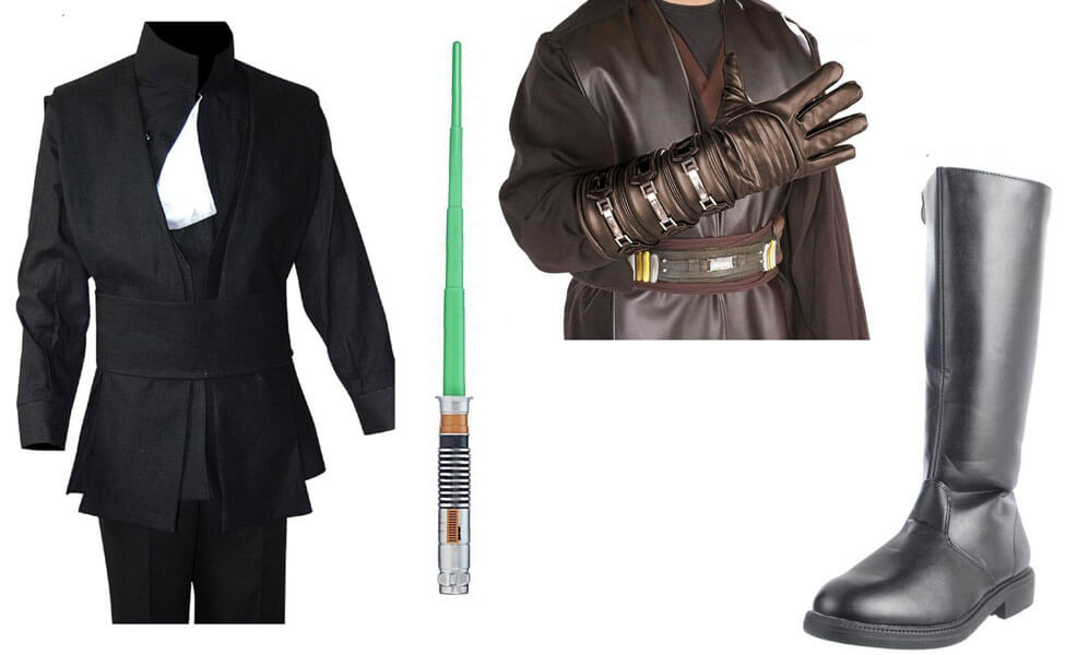 Luke Skywalker From Return Of The Jedi Costume Diy Guides For