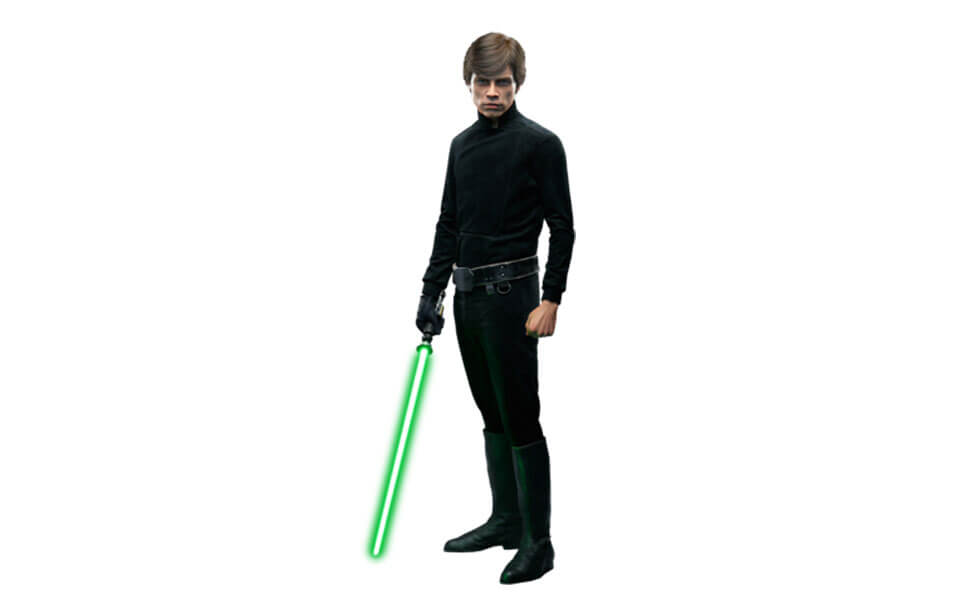 Luke Skywalker from Return of the Jedi
