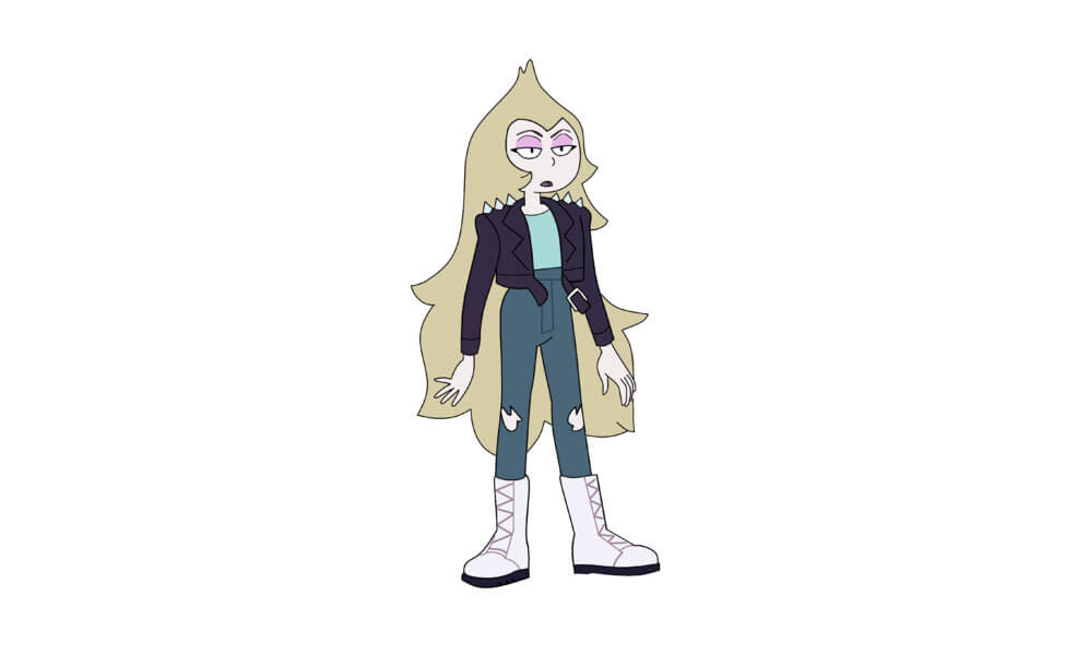 Young Vidalia from Steven Universe